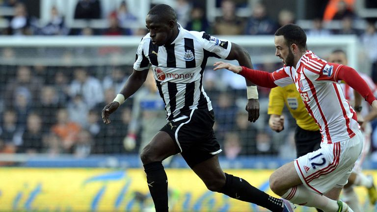 Moussa Sissoko: Happy with French contingent at Newcastle