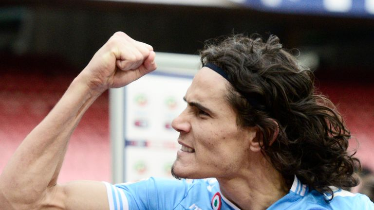 Edinson Cavani: Wanted by a host of Europe's top clubs