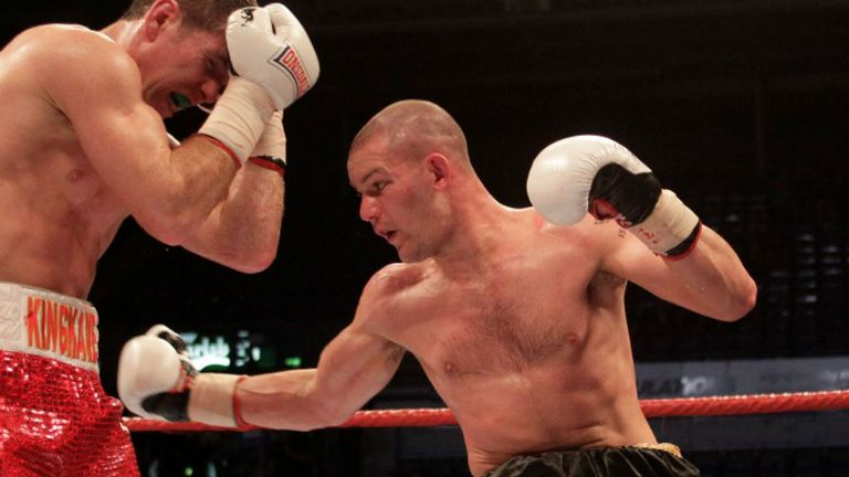 Wayne Reed: Looking to cause a massive upset against Rocky Fielding (Pic Lawrence Lustig)