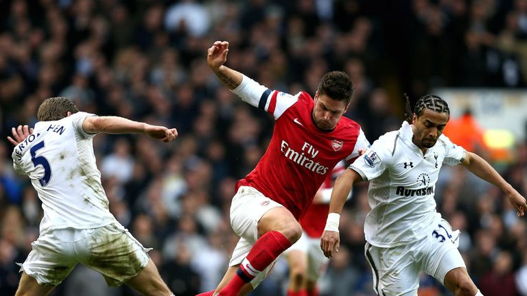 Olivier Giroud: Part of side beaten at Tottenham