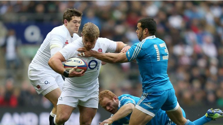 Tom Youngs: Takes the fight to the Italians