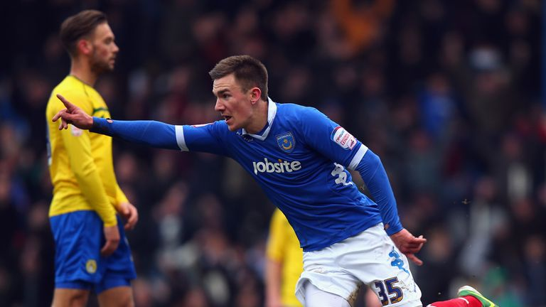 Jed Wallace: Important player for Pompey