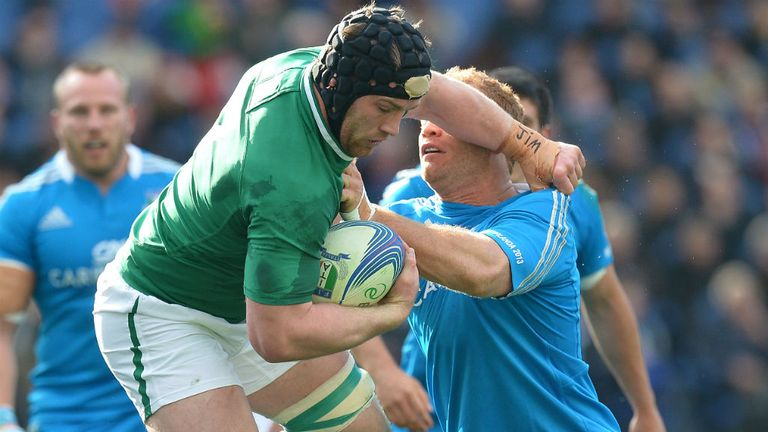 Sean O'Brien fails to spark Ireland