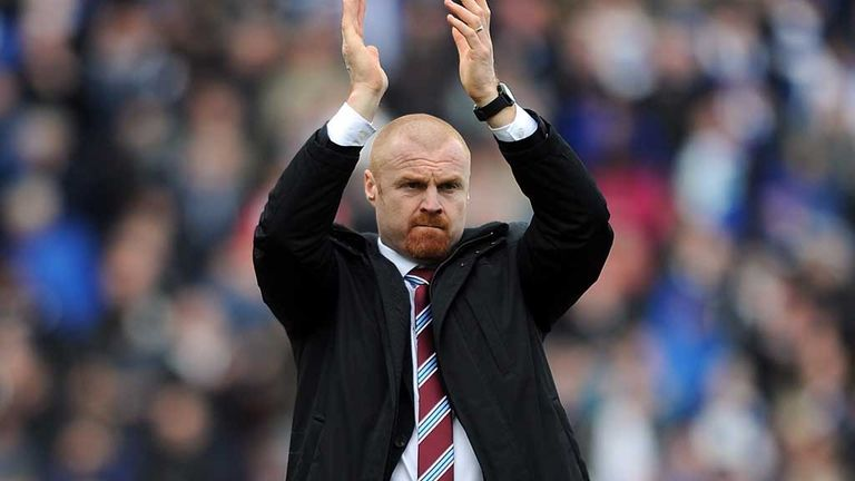 Sean Dyche: Has guided Burnley to a top-half finish with Ipswich win