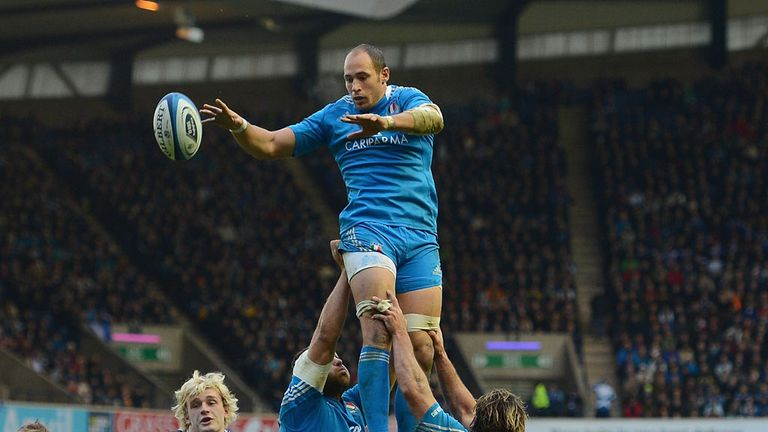 Sergio Parisse: Will be in action at Twickenham on Sunday after all.