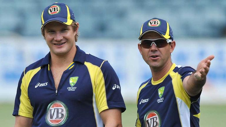 "Ricky Ponting insists Shane Watson is a ""very good team player"""