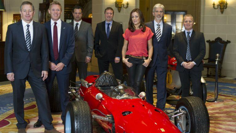 The Sky F1 team