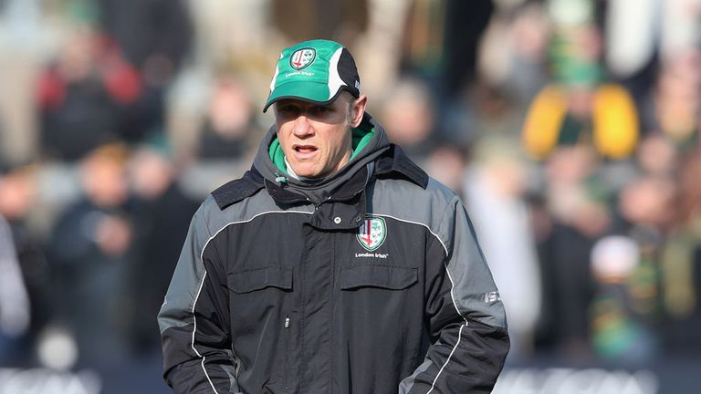 Brian Smith: Praised dominant London Irish forwards