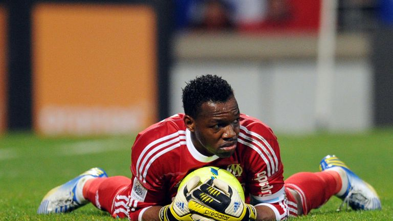 Steve Mandanda: Marseille keeper ready to face Arsenal