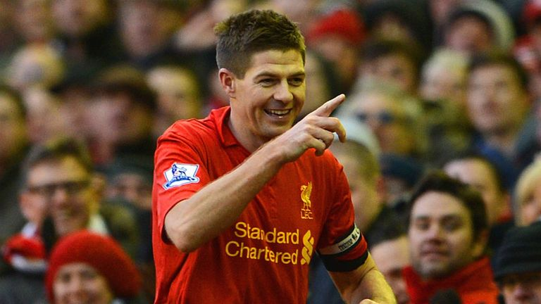 Steven Gerrard: Has played every minute of Liverpool's 2012/13 Premier League campaign