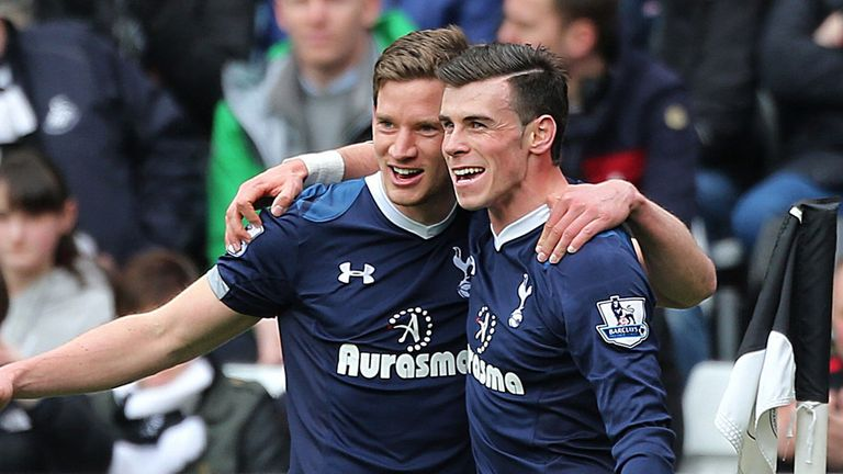 Gareth Bale: He and Jan Vertonghen helped Tottenham back into third place on Saturday