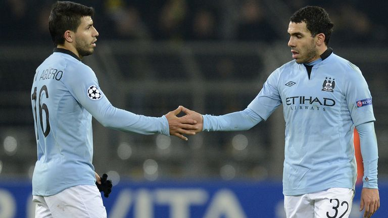 May the best man win: Aguero and Tevez are vying for your Suarez-shaped hole