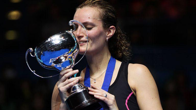 Tine Baun: Won a high-quality final.