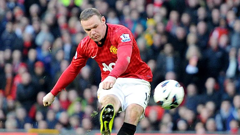 Wayne Rooney: Scored his 195th United goal against Norwich