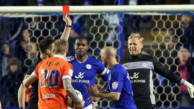 Wes Morgan: Given his marching orders early on