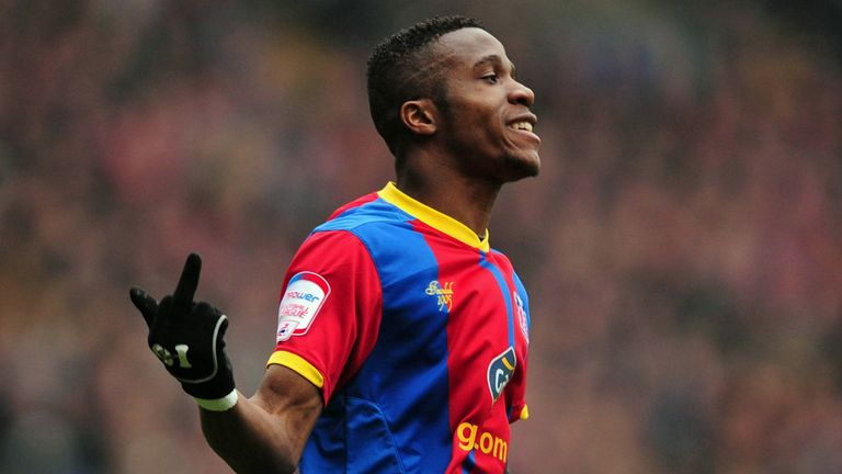 Wilfried Zaha: Named in the Championship Team of the Year