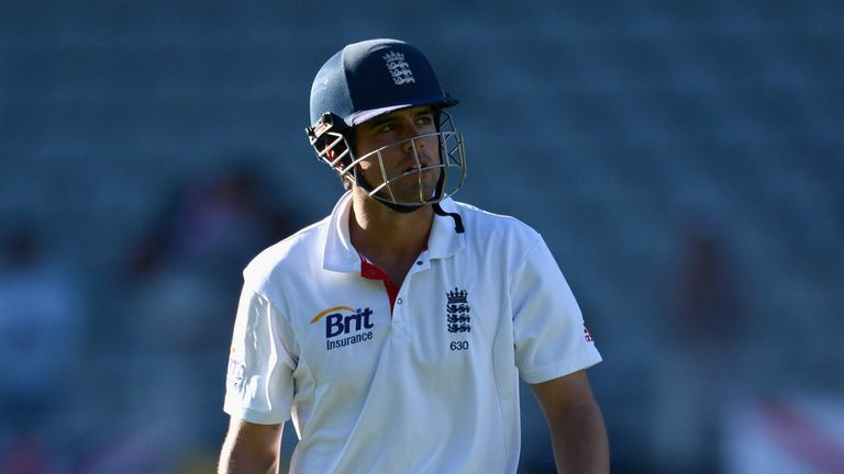 Alastair Cook: will be aiming for a century on Thursday