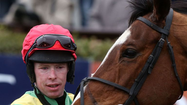Andrew Lynch: Rode a double at Navan
