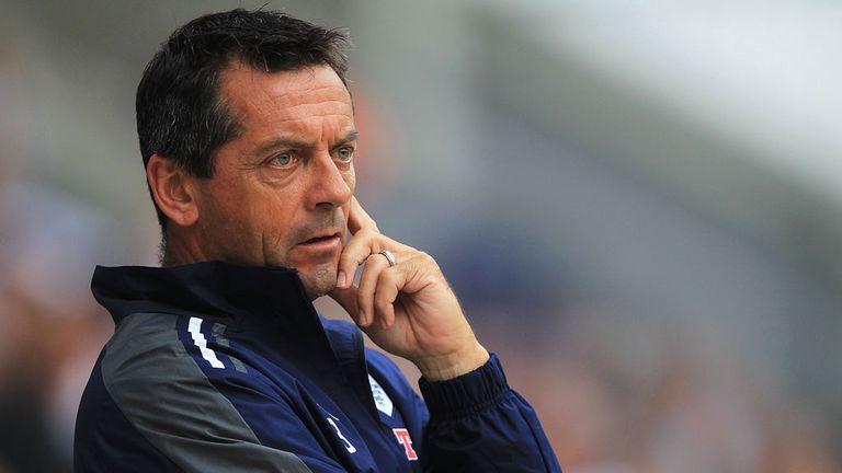 Phil Brown: Impressed by Woodrow