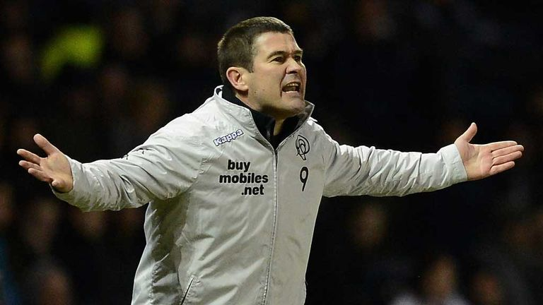 Nigel Clough: Derby manager frustrated by home defeat to Crystal Palace