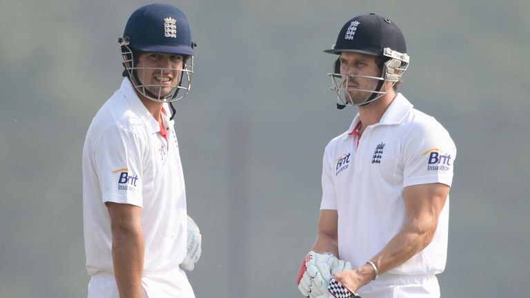Cook and Compton: both reached three figures on day four