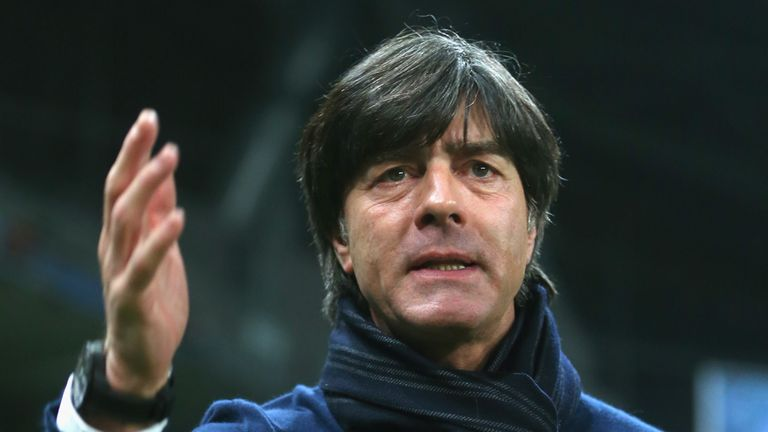 Joachim Low: Germany coach will bring his side to Wembley next month