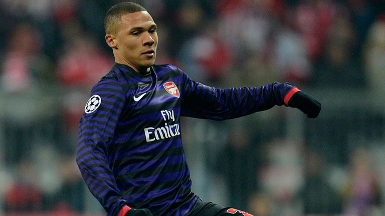 Kieran Gibbs: Returned from injury at Bayern's Allianz Arena