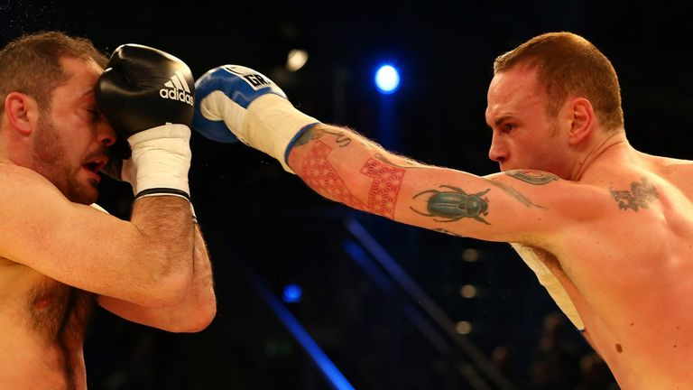 George Groves: Targeting crack at WBO title-holder