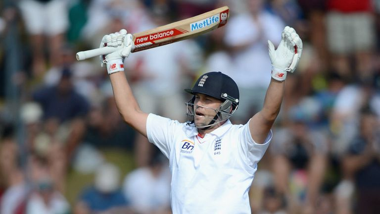 Jonathan Trott: Finished unbeaten on 121