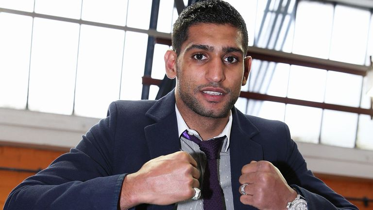 Amir Khan: Back in the UK on Saturday