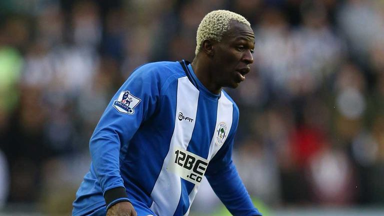 Arouna Kone: Wigan striker closing in on record