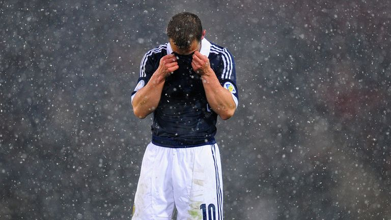 Shaun Maloney: Admits confidence has been severely dented as Scotland lie bottom of Group A