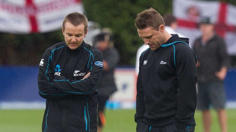 Brendon McCullum: New Zealand captain inspects conditions in Wellington