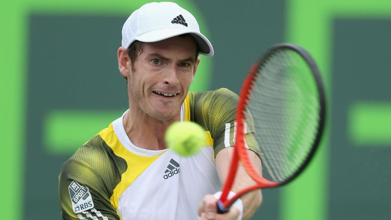 Andy Murray: Will face Italian Andreas Seppi on Tuesday for a place in the quarter-finals