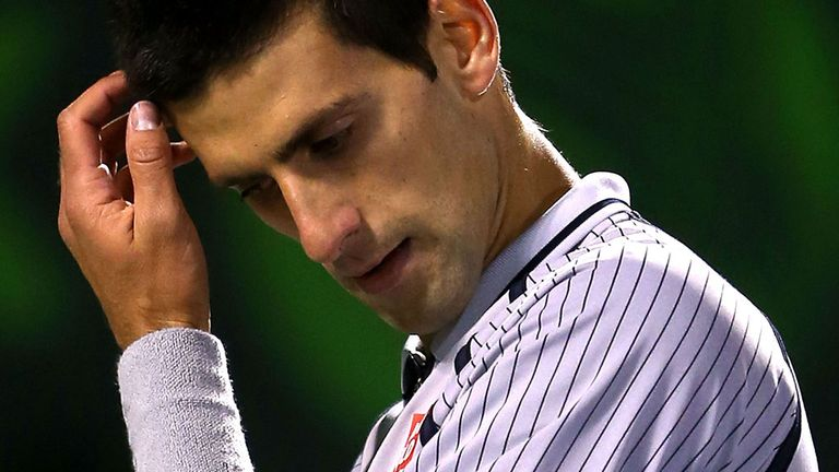 Novak Djokovic: Worried over severity of ankle injury