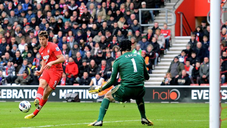 Jay Rodriguez: Scoring opening goal against Chelsea on Saturday