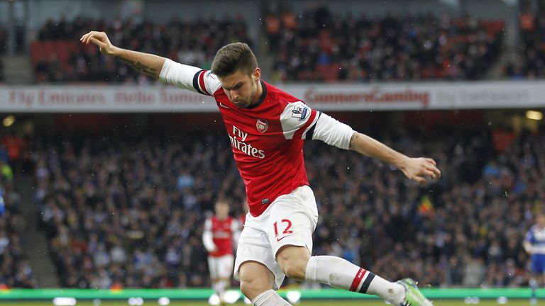 Olivier Giroud: Thinks Arsenal have the required spirit to go on and grab a top four place