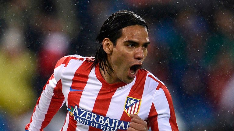 Radamel Falcao: Scored the only goal as Atletico Madrid beat Sevilla