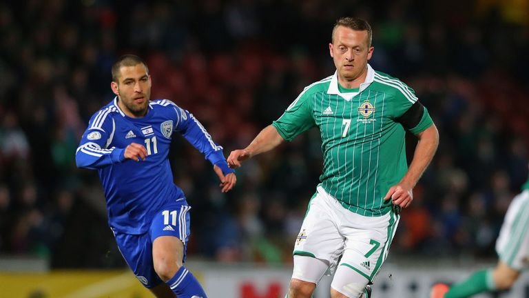 Sammy Clingan: Kilmarnock midfielder returns for Northern Ireland's World Cup double-header