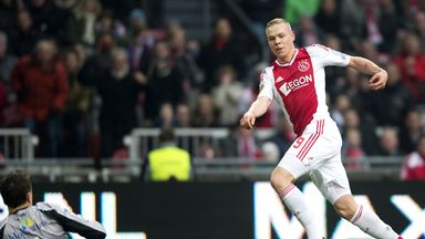 Kolbeinn Sigthorsson: Gave Ajax the lead against Groningen