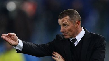 Aurelio Andreazzoli: Disappointed with his side's draw against Pescara