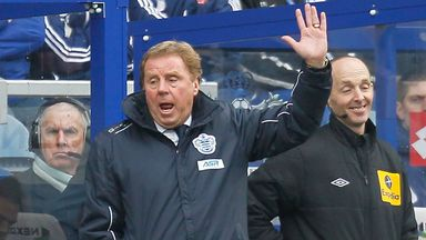 "Harry Redknapp: QPR boss ready for ""massive"" game with Aston Villa"