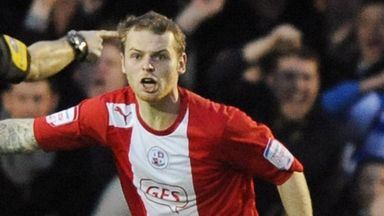 Mark Connolly: Defender impressing at Crawley Town