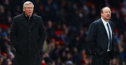 Sir Alex Ferguson: Opted not to shake the hand of Rafa Benitez