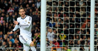 Gonzalo Higuain: In amongst the goals for Real Madrid