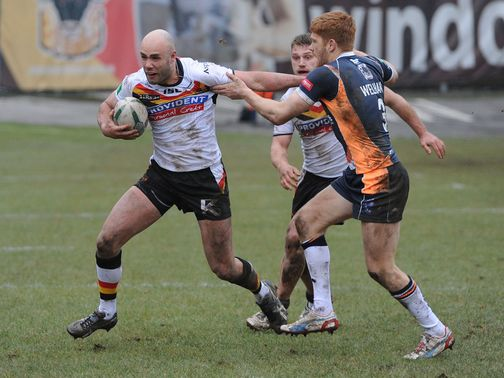 Adrian Purtell: Welcome return to action for Bradford