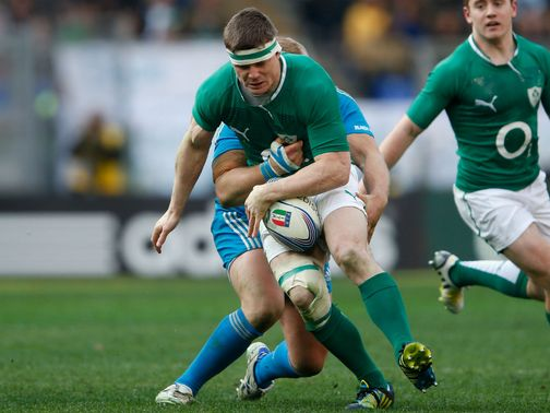 Brian O&#39;Driscoll: Cited for stamping