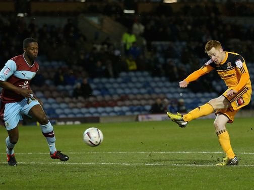 Stephen Quinn fires in the only goal of the game