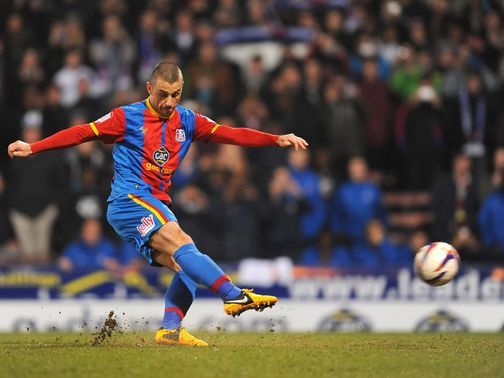 Kevin Phillips scored a hat-trick for Crystal Palace