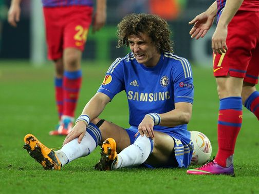 David Luiz: Would much sooner be playing than training